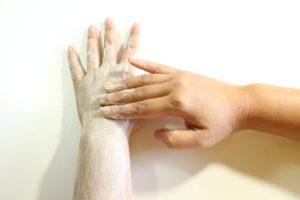 exfolier la peau