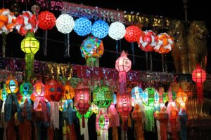 fête koh phangan thailande
