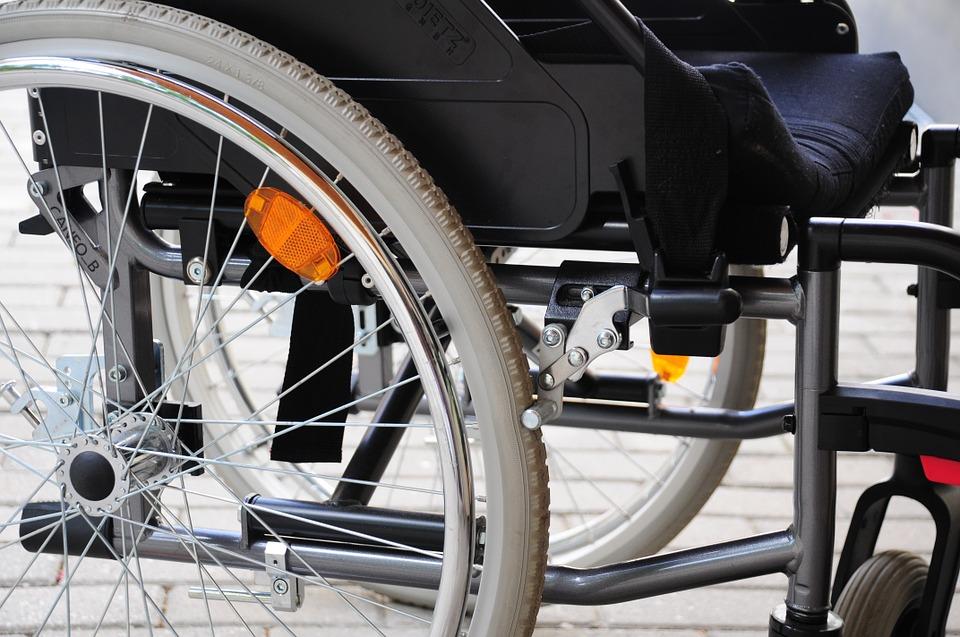 victime d'accident avec handicap