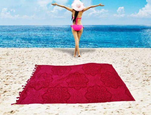 serviette de plage pas cher